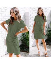 Фустан - код 835 - путер зелена