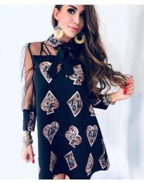 Фустан - код 212 - црна