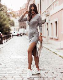 Фустан - код 6593 - сиво