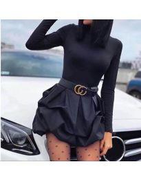 Фустан - код 8380 - црна