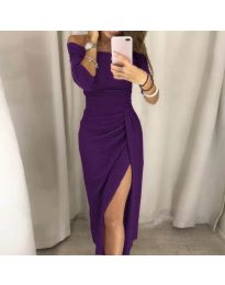 Фустан - код 6045 - виолетова