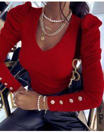 Блуза - код 2065 - црвена