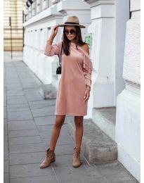Фустан - код 8171 - розова