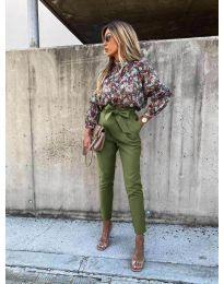 Панталони - код 788 - путер зелена
