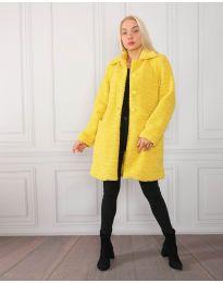 Палто - код 1615 - жолта