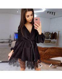 Фустан - код 3738 - црна