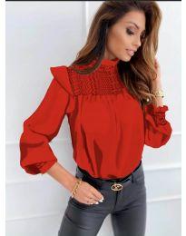 Блуза - код 6202 - црвена
