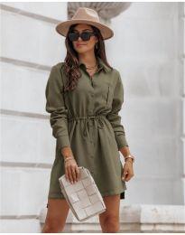 Фустан - код 132 - путер зелена