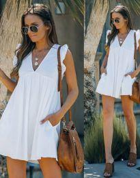 Фустан - код 7141 - бело