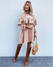 Фустан - код 6913 - розова