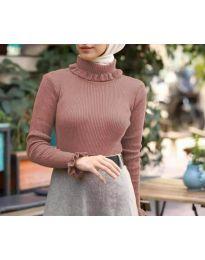 Блуза - код 6556 - праска