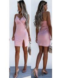 Фустан - код 8979 - розова