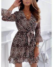 Фустан - код 7677 - 3 - шарена