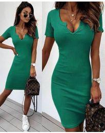 Фустан - код 8829 - зелена