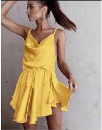 Фустан - код 660 - жолта