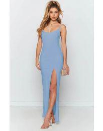 Фустан - код 715 - светло сина
