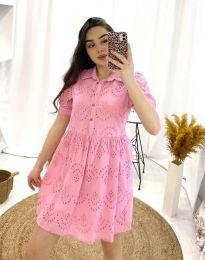 Фустан - код 0517 - 2 - розова