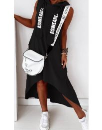 Фустан - код 837 - црна
