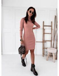 Фустан - код 5696 - розова