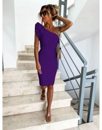 Фустан - код 710 - темно виолетова