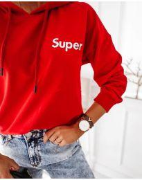 Блуза - код 4000 - црвена