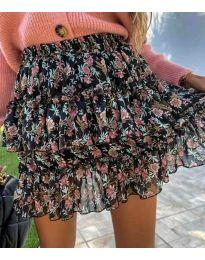 Сукња - код 4851 - црна