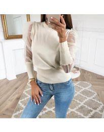 Блуза - код 3460 - бела