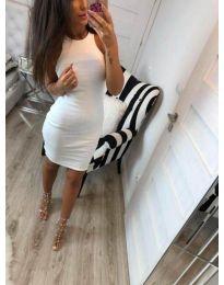 Фустан - код 2623 - бела
