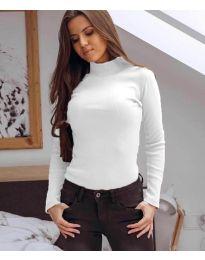 Блуза - код 6323 - бело