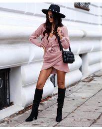 Фустан - код 395 - розова