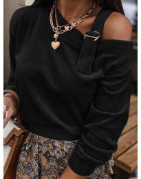 Блуза - код 280 - црна