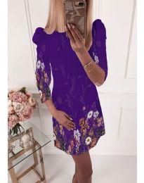Фустан - код 240 - темно виолетова
