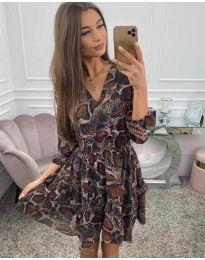 Фустан - код 4716 - шарено