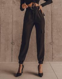 Панталони - код 2985 - црна