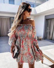 Фустан - код 2508 - шарено