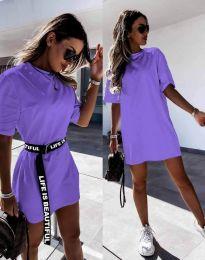 Фустан - код 8808 - виолетова