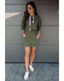 Фустан - код 999 - путер зелена