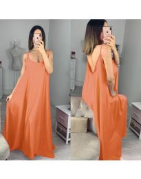 Фустан - код 6600 - портокалова