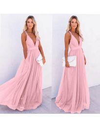 Фустан - код 5587 - розова