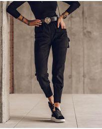 Панталони - код 5664 - црна