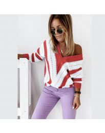 Блуза - код 0907 - црвена
