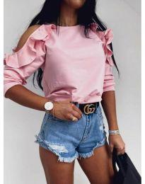 Блуза - код 3434 - розова