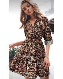 Фустан - код 979 - 3 - шарено