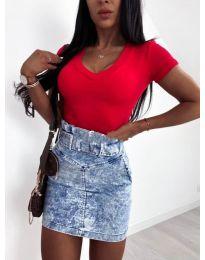 Блуза - код 756 - црвена