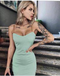 Фустан - код 4749 - зелена