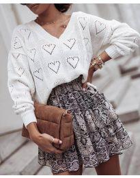 Блуза - код 137 - бело