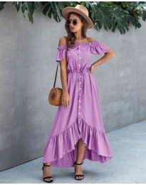 Фустан - код 564 - виолетова