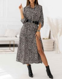 Фустан - код 3853 - шарена