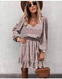 Фустан - код 0366 - пудра
