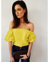 Блуза - код 243 - жолта